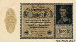 10000 Mark ALLEMAGNE  1922 P.072 SPL