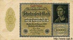 10000 Mark ALLEMAGNE  1922 P.072 TB à TTB