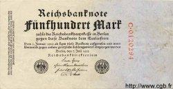 500 Mark ALLEMAGNE  1922 P.074a TTB