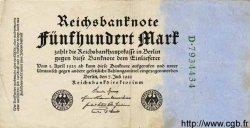 500 Mark ALLEMAGNE  1922 P.074b TTB+