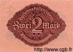 2 Mark ALLEMAGNE  1922 P.062s pr.NEUF