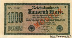 1000 Mark ALLEMAGNE  1922 P.076as SUP