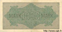1000 Mark ALLEMAGNE  1922 P.076a TTB