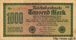 1000 Mark ALLEMAGNE  1922 P.076var TB