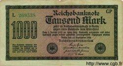 1000 Mark ALLEMAGNE  1922 P.076h TB