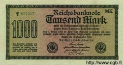 1000 Mark ALLEMAGNE  1922 P.076h TTB