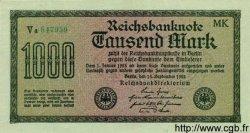 1000 Mark ALLEMAGNE  1922 P.076h pr.NEUF