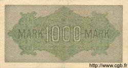 1000 Mark ALLEMAGNE  1922 P.076c TTB+