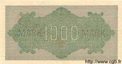 1000 Mark ALLEMAGNE  1922 P.076cs pr.NEUF