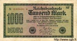 1000 Mark ALLEMAGNE  1922 P.076c TB
