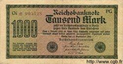 1000 Mark ALLEMAGNE  1922 P.076d TB