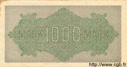 1000 Mark ALLEMAGNE  1922 P.076j SUP