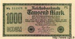 1000 Mark ALLEMAGNE  1922 P.076j NEUF