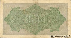 1000 Mark ALLEMAGNE  1922 P.076f TB