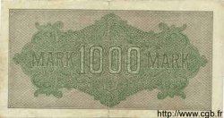 1000 Mark ALLEMAGNE  1922 P.076g TB