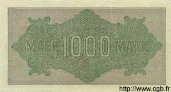 1000 Mark ALLEMAGNE  1922 P.076s SUP