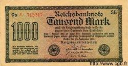 1000 Mark ALLEMAGNE  1922 P.076var SUP