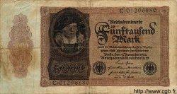 5000 Mark ALLEMAGNE  1922 P.078 B+