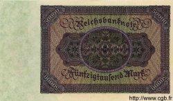 50000 Mark ALLEMAGNE  1922 P.080s SPL