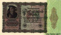 50000 Mark ALLEMAGNE  1922 P.080 pr.NEUF