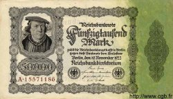50000 Mark ALLEMAGNE  1922 P.079 SUP