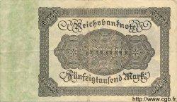 50000 Mark ALLEMAGNE  1922 P.079 TTB