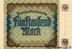 5000 Mark ALLEMAGNE  1922 P.081a pr.NEUF
