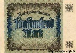 5000 Mark ALLEMAGNE  1922 P.081cs pr.NEUF