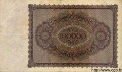 100000 Mark ALLEMAGNE  1923 P.083var TTB