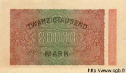 20000 Mark ALLEMAGNE  1923 P.085as NEUF