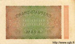 20000 Mark ALLEMAGNE  1923 P.085a SPL