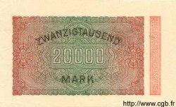 20000 Mark ALLEMAGNE  1923 P.085b SPL