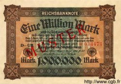1 Million Mark ALLEMAGNE  1923 P.086as pr.NEUF