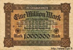 1 Million Mark ALLEMAGNE  1923 P.086a B