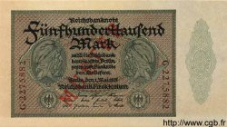 500000 Mark ALLEMAGNE  1923 P.088bs NEUF
