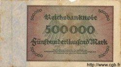 500000 Mark ALLEMAGNE  1923 P.088b B