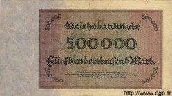 500000 Mark ALLEMAGNE  1923 P.088b TB à TTB