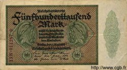 500000 Mark ALLEMAGNE  1923 P.088b TB+
