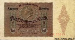 5 Millionen Mark ALLEMAGNE  1923 P.090 TB