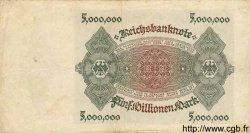 5 Millionen Mark ALLEMAGNE  1923 P.090 TTB