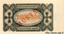 2 Millionen Mark ALLEMAGNE  1923 P.089as NEUF