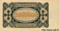 2 Millionen Mark ALLEMAGNE  1923 P.089a pr.TTB