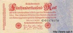 500000 Mark ALLEMAGNE  1923 P.092 TTB+