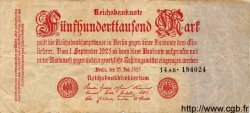 500000 Mark ALLEMAGNE  1923 P.092 B+
