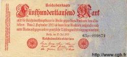 500000 Mark ALLEMAGNE  1923 P.092 TTB
