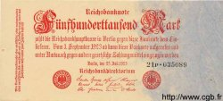 500000 Mark ALLEMAGNE  1923 P.092 SUP