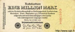 1 Million Mark ALLEMAGNE  1923 P.094 SUP+