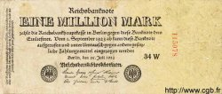 1 Million Mark ALLEMAGNE  1923 P.094 B+