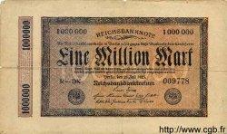 1 Million Mark ALLEMAGNE  1923 P.093 B