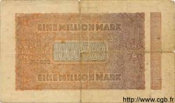 1 Million Mark ALLEMAGNE  1923 P.093 B